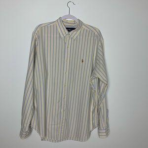 Ralph Lauren Men's Long Sleece button down size XL